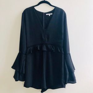 Dresses & Skirts - Beautiful black romper with details